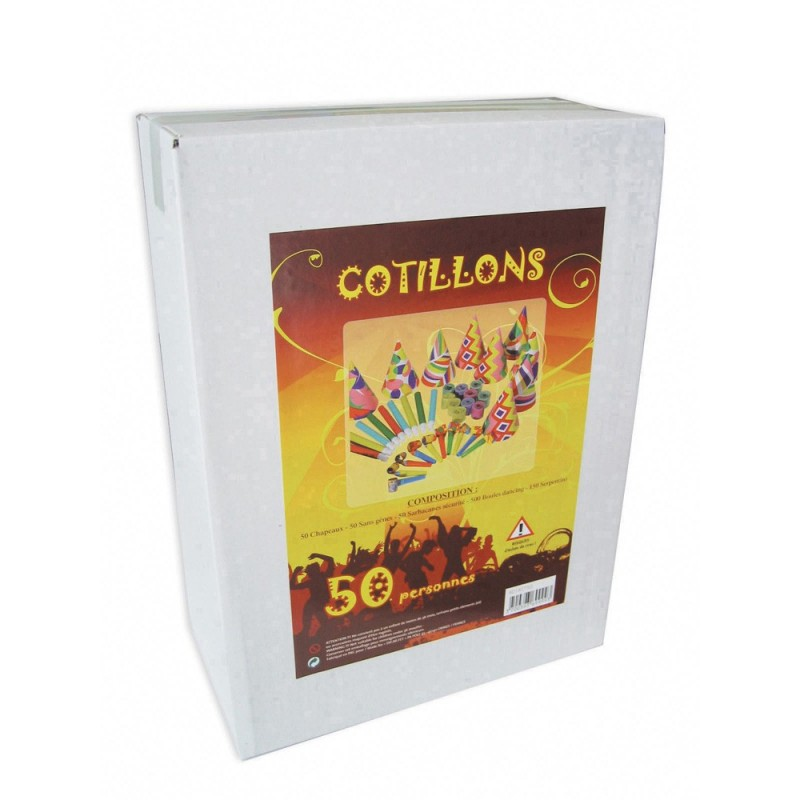 KIT COTILLON 50 PERSONNES