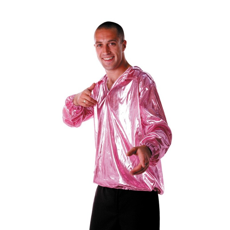 CHEMISE DISCO NIGHT ROSE