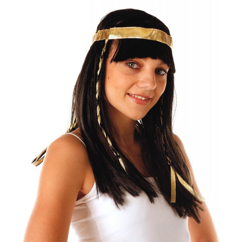 PERRUQUE CLEOPATRE LUXE