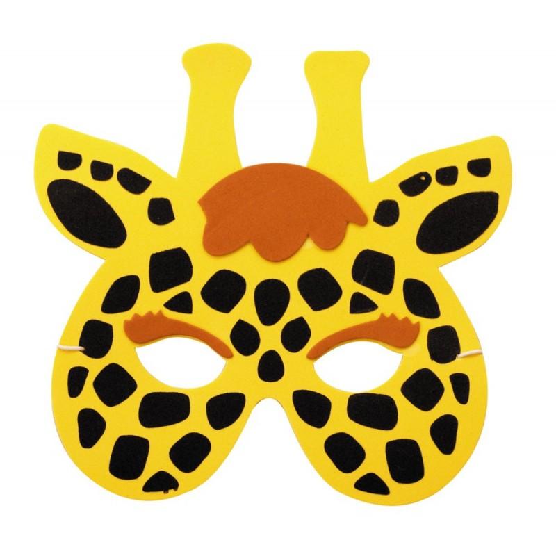 Masque enfant girafe EVA