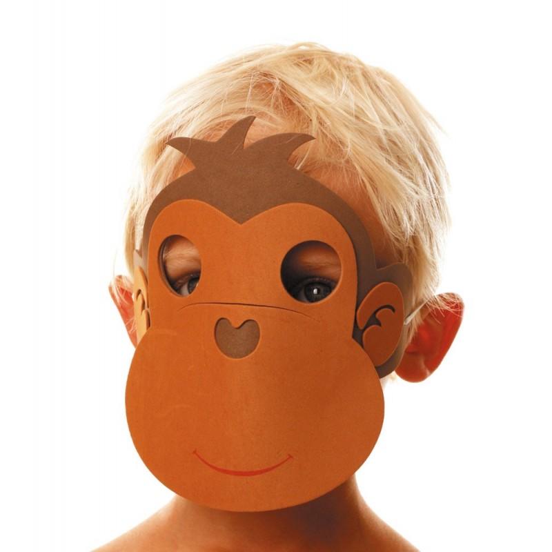 Masque enfant singe EVA
