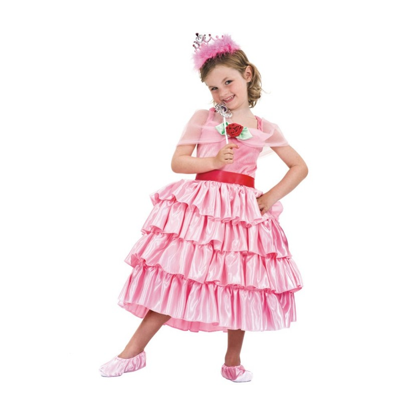 COSTUME PRINCESSE LUXE 4-6 ANS