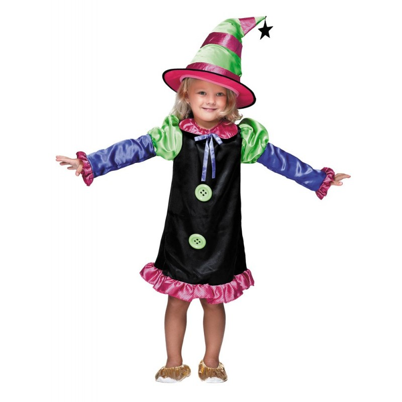 COSTUME SORCIERE LUXE 4-6 ANS