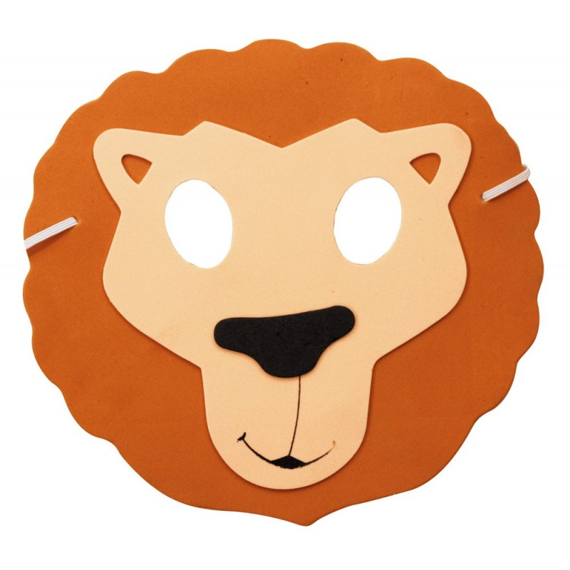 Masque enfant lion EVA