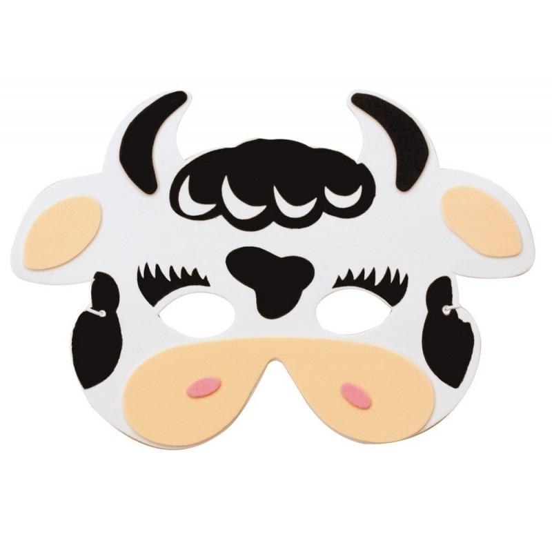 Masque enfant vache EVA