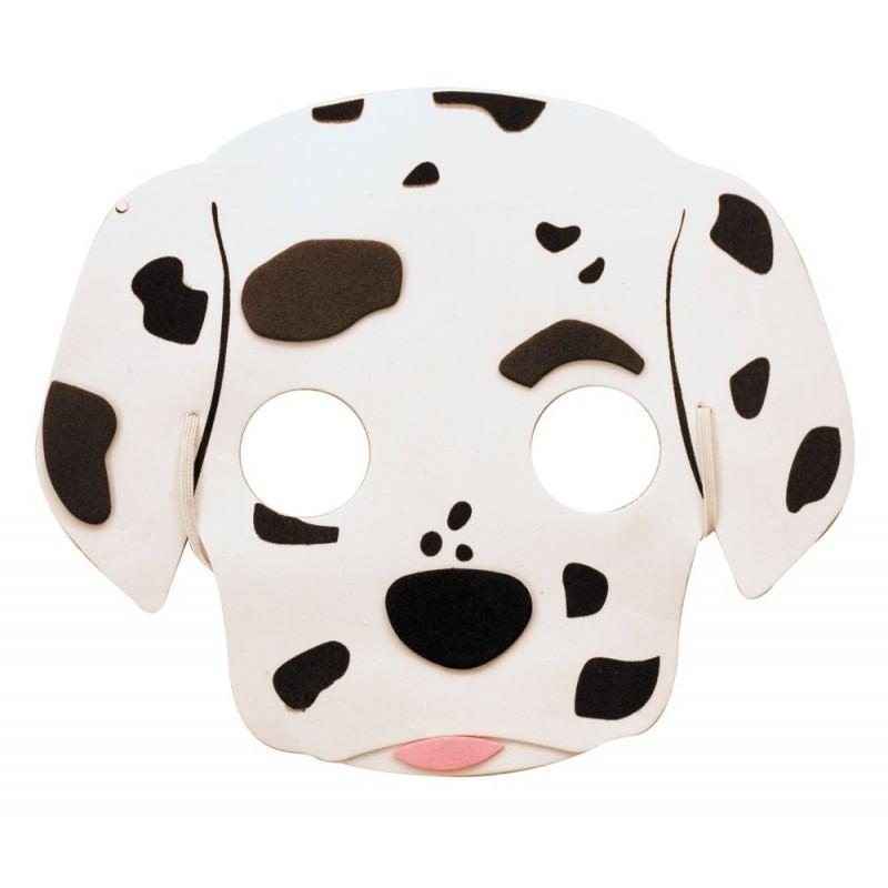 Masque enfant dalmatien EVA