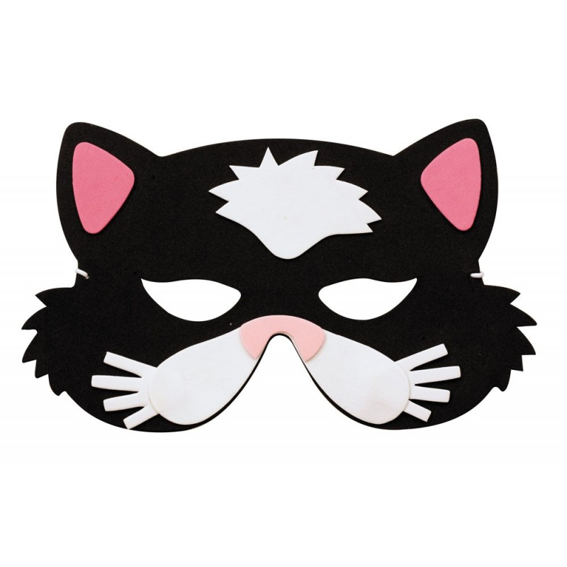 Masque enfant chat EVA
