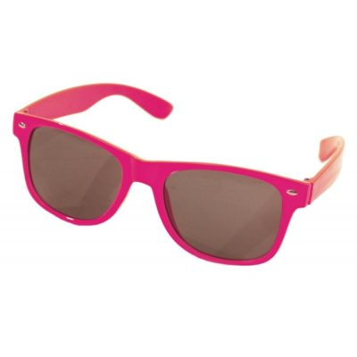 Lunettes fluo rose