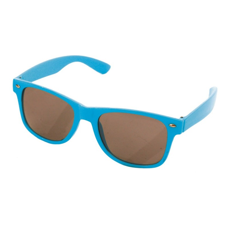 Lunettes blues turquoise