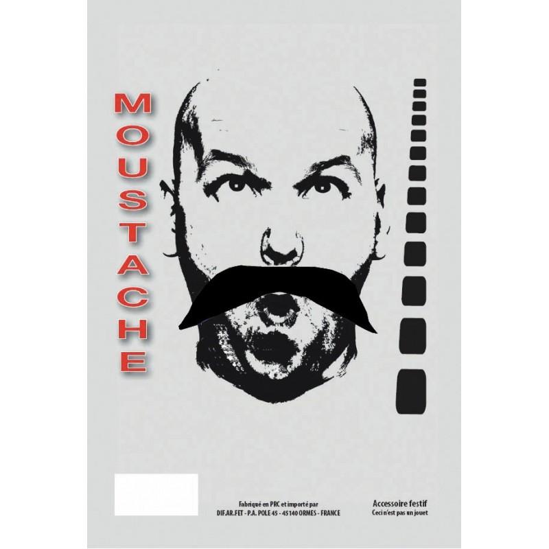 MOUSTACHE CHINOIS NOIRE