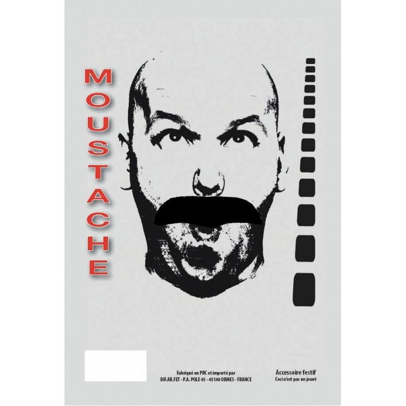 MOUSTACHE BASIC NOIRE