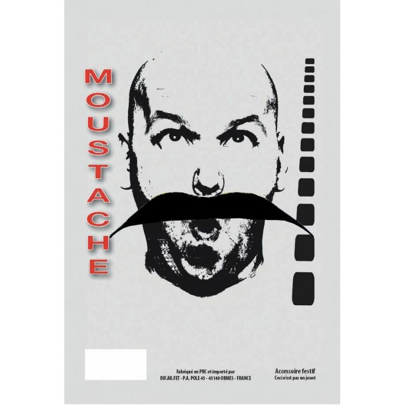 MOUSTACHE BASIC LONGUE NOIRE