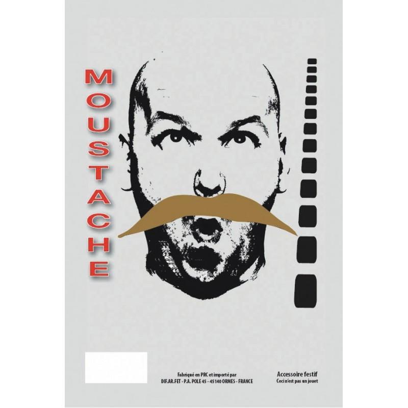 MOUSTACHE BANDIT BLONDE