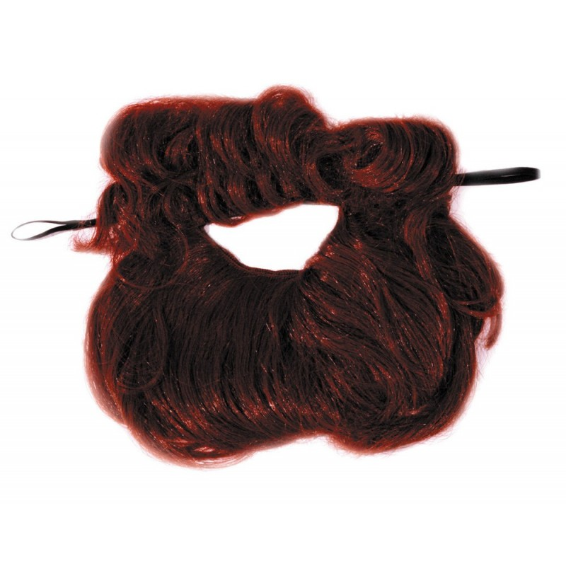 BARBE ET MOUSTACHE CHATAIN