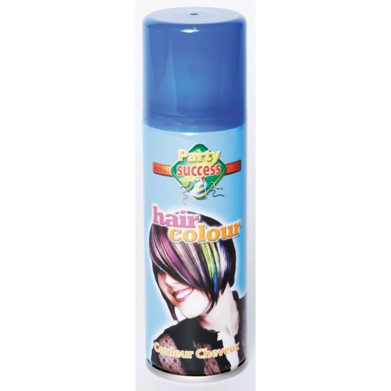 Bombe cheveux fluo bleu