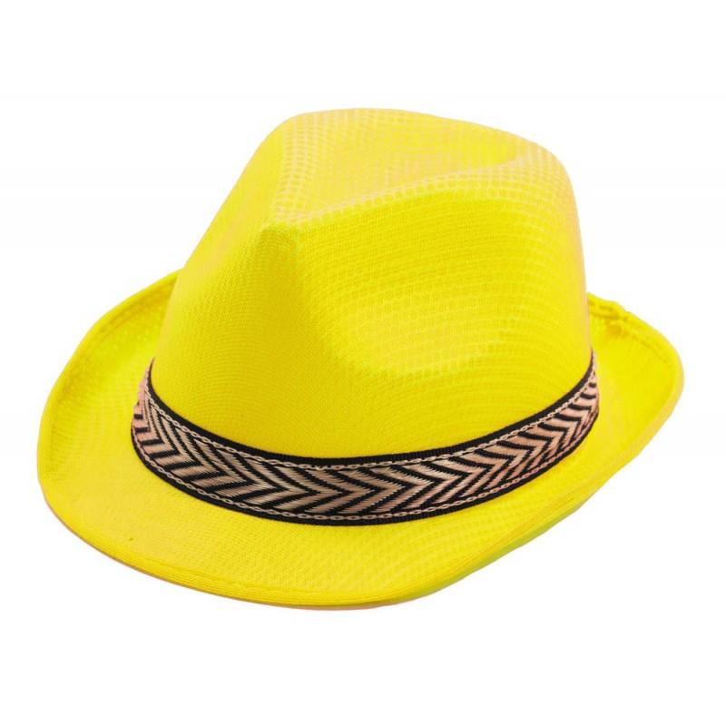 Borsalino polyester jaune