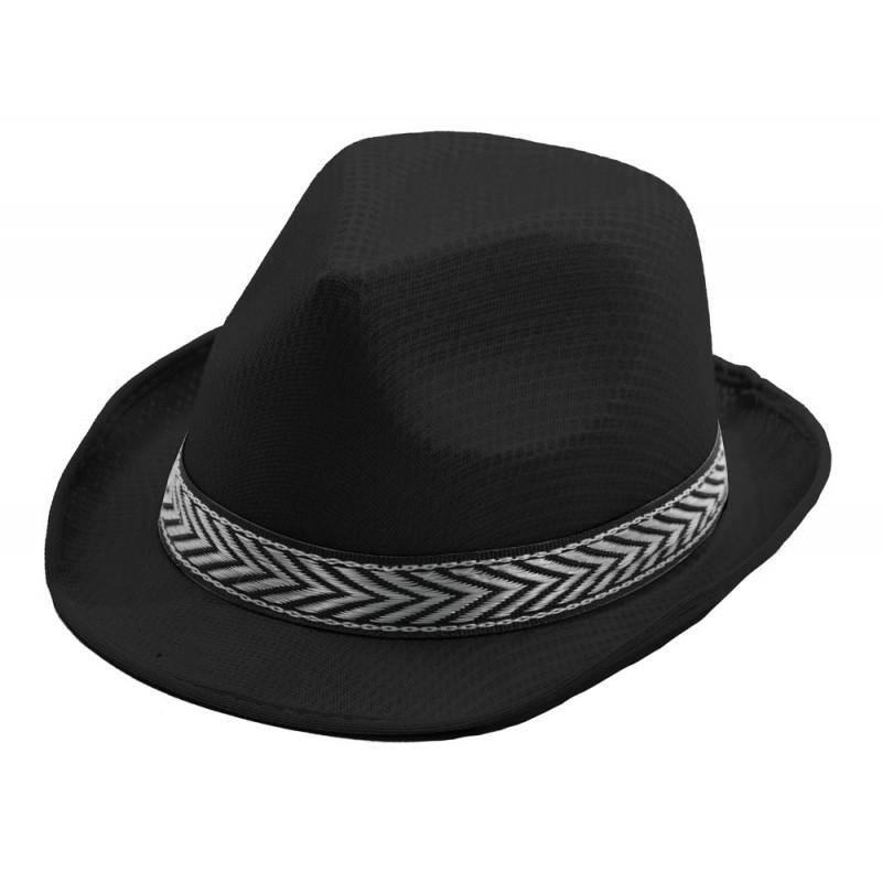 Borsalino polyester noir