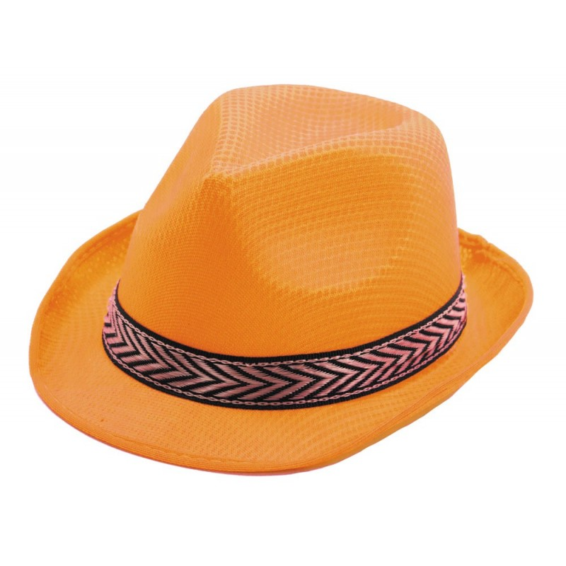 Borsalino polyester orange