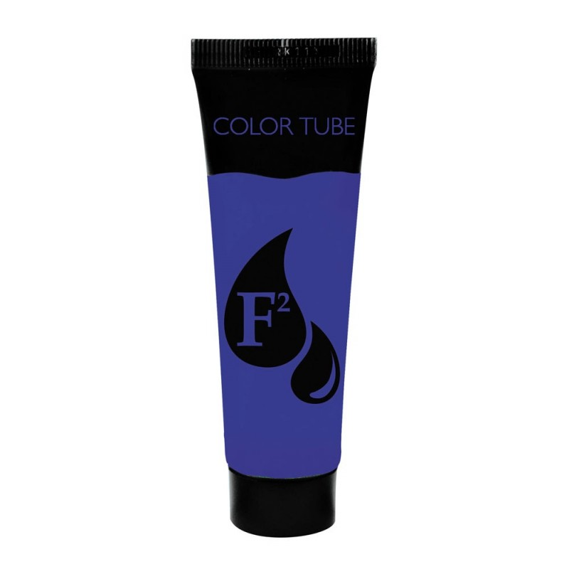 Tube color 30gr bleu france