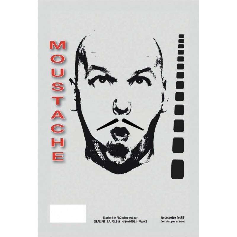 MOUSTACHE GANGSTER NOIRE
