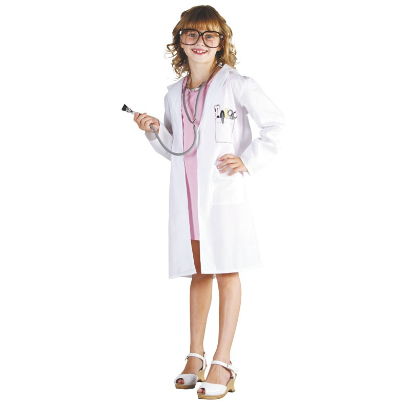 Blouse de docteur mixte enfant 4-6 ans