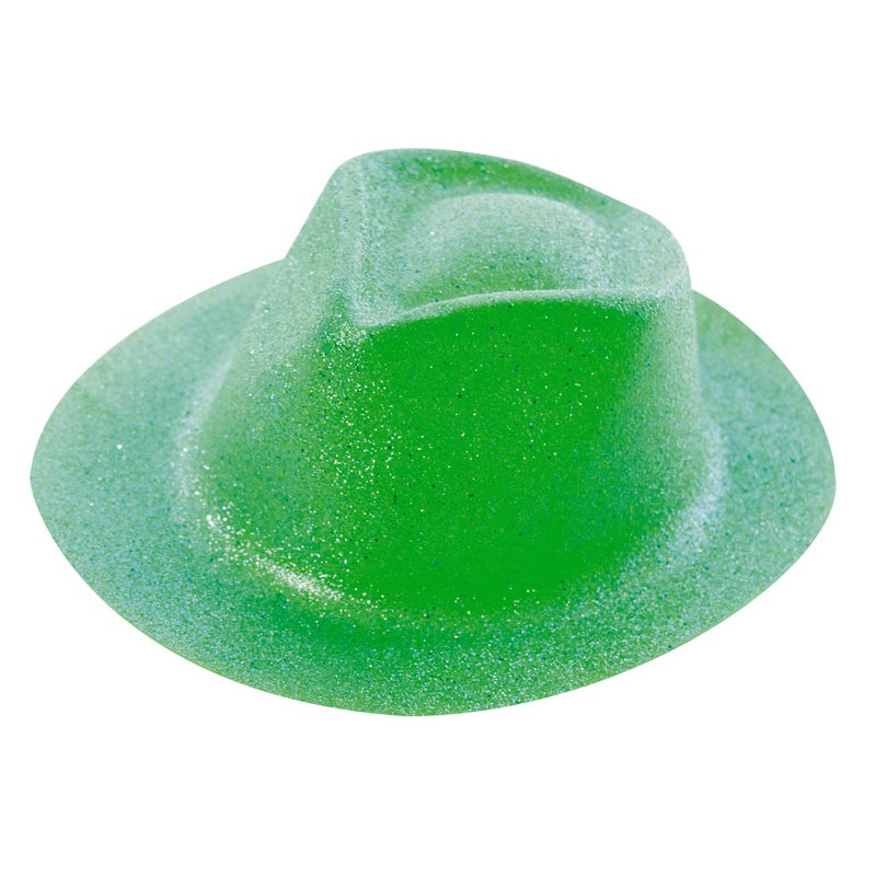 Borsalino paillette vert lemon