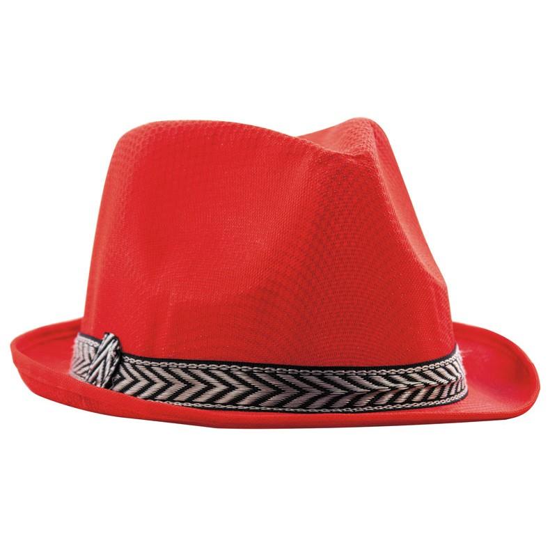 Borsalino polyester rouge