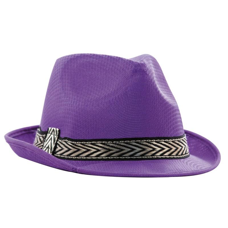 Borsalino polyester violet