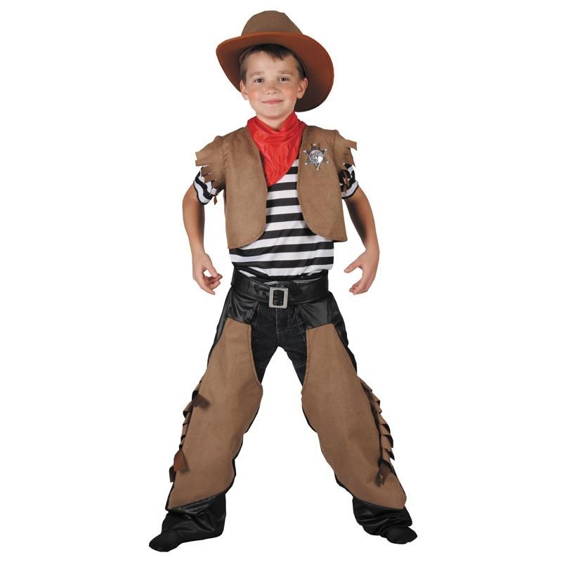 Costume cowboy 4-6 ans