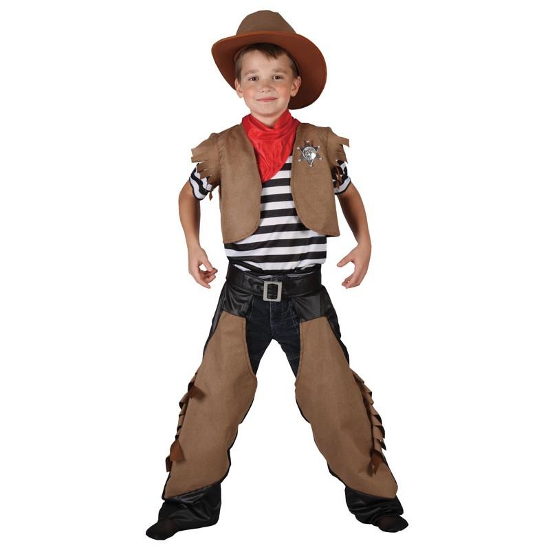Costume cowboy 7-9 ans