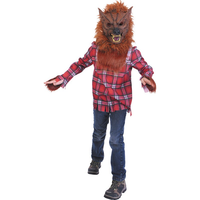 Costume grand méchant loup 4-6 ans
