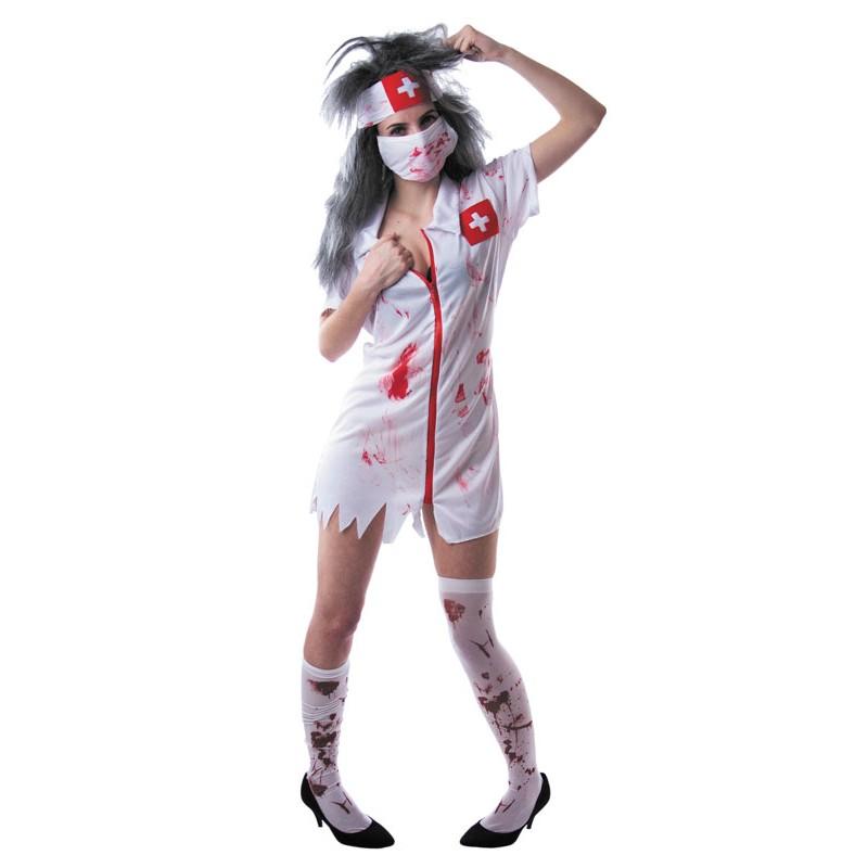 Costume infirmière zombie
