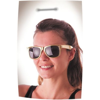 Lunettes blues or