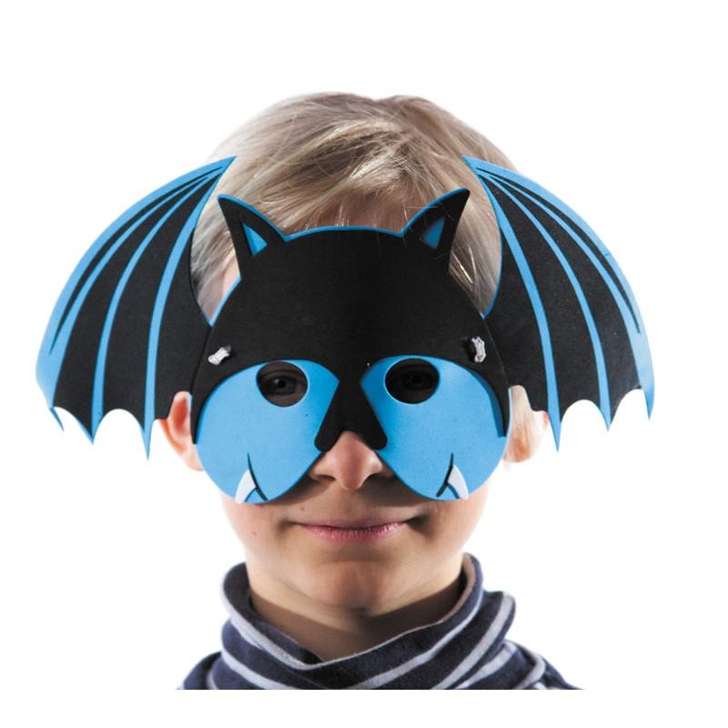 Masque enfant eva chauve souris