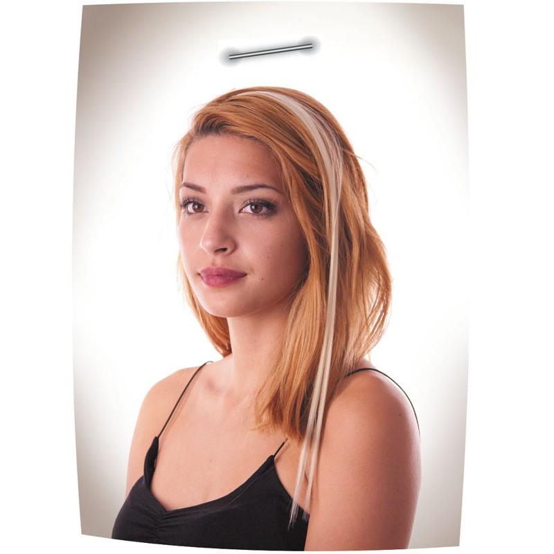 Mèche à clipser blonde