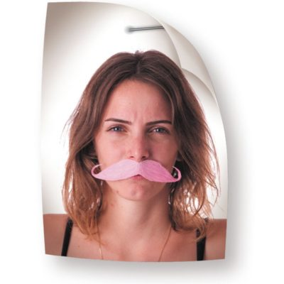 Moustache aristo rose