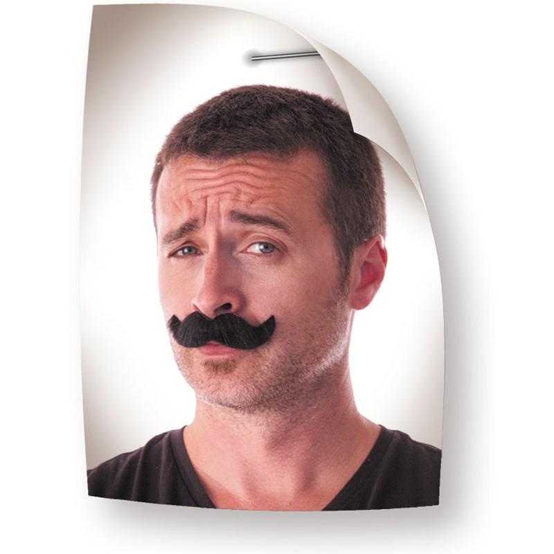 Moustache classy noire