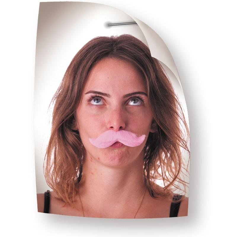 Moustache classy rose