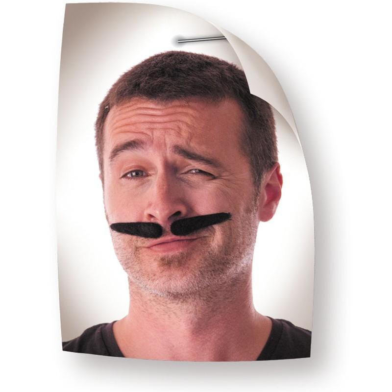 Moustache gangsta noire