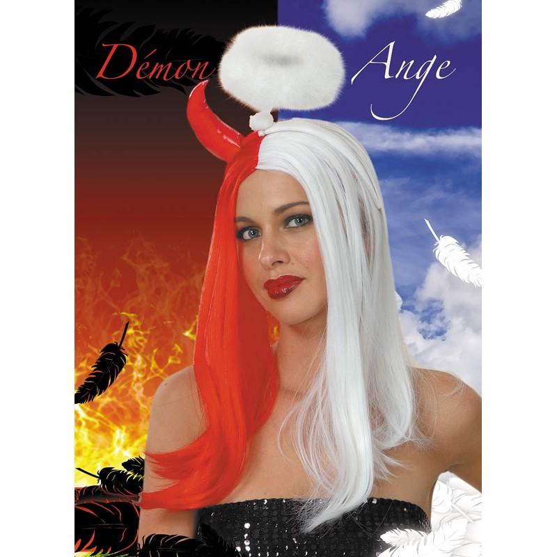 Perruque ange et démon