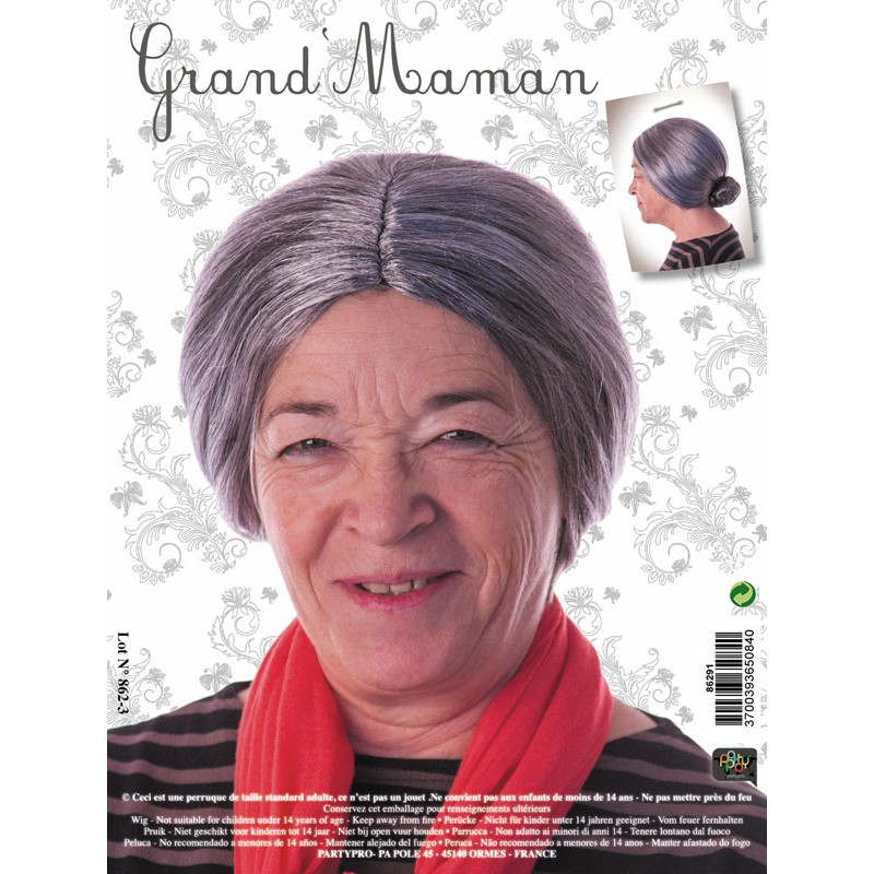 Perruque grand maman