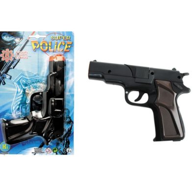 Pistolet police amorces 8 coups
