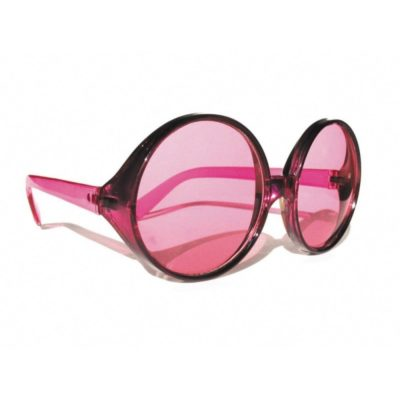 LUNETTES HIPPY ROSES GEANTES