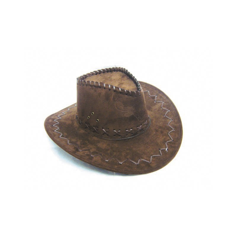CHAPEAU BUFFALO LUXE MARRON