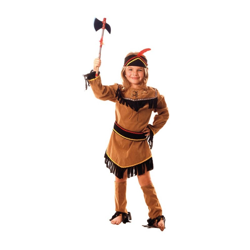 COSTUME INDIENNE SIOUX 7 A 9 ANS