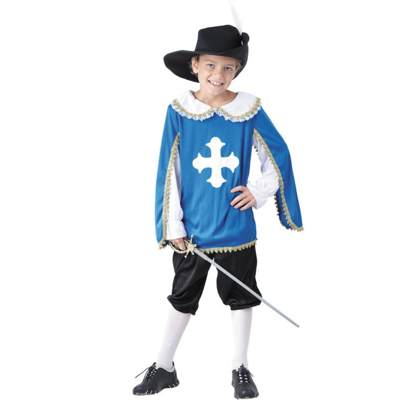 COSTUME MOUSQUETAIRE 7 A 9 ANS