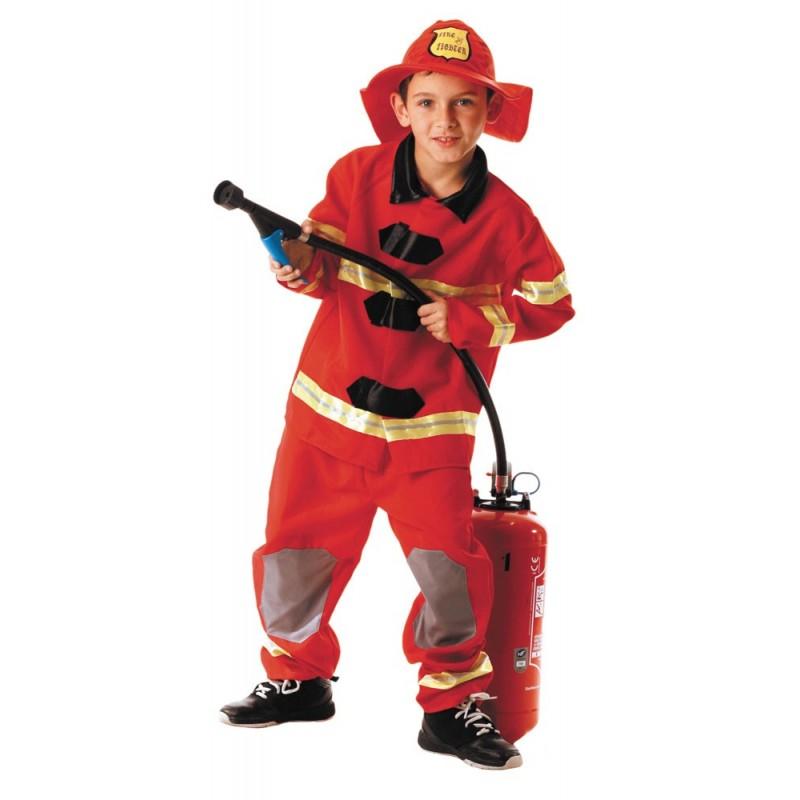costume pompier 4 a 6 ans magasin la f te. Black Bedroom Furniture Sets. Home Design Ideas