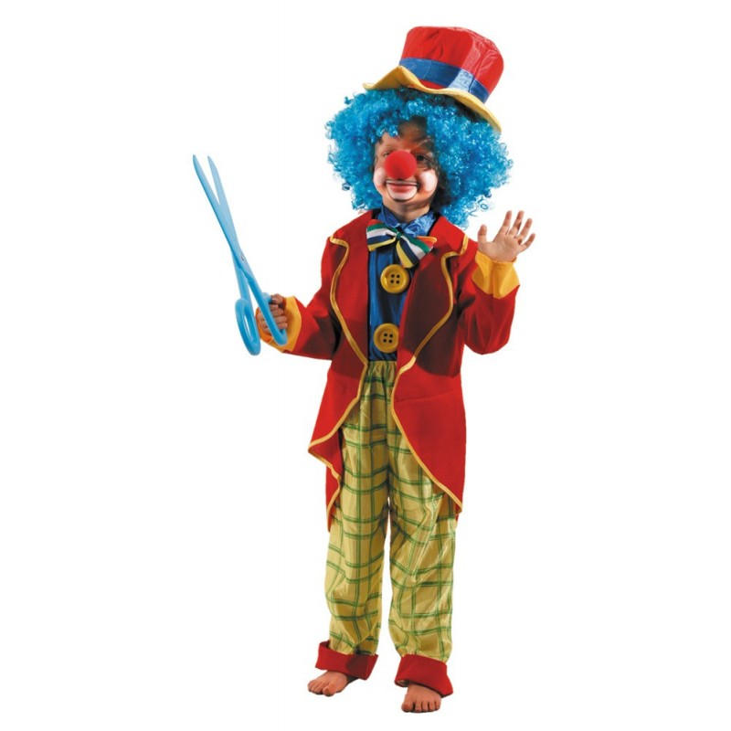 COSTUME CLOWN 4 A 6 ANS