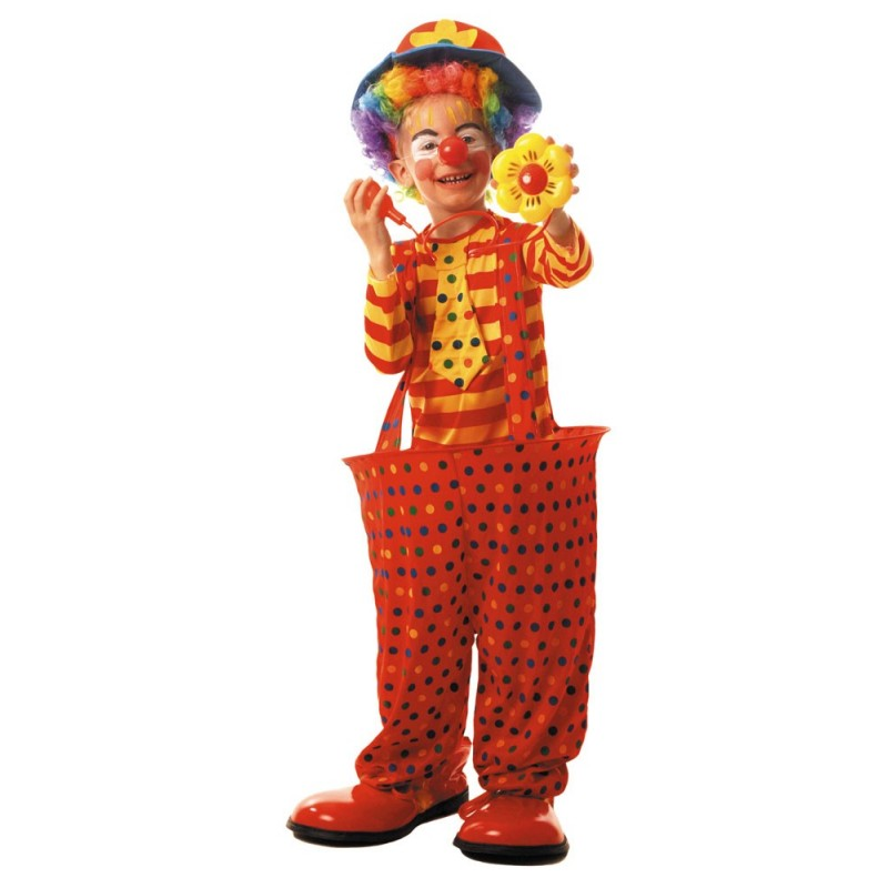 COSTUME CLOWN CERCEAU 4 A 6 ANS