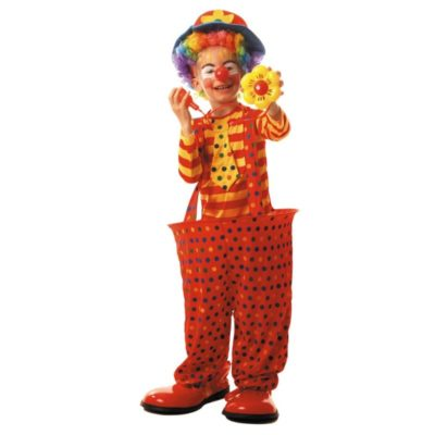COSTUME CLOWN CERCEAU 7 A 9 ANS